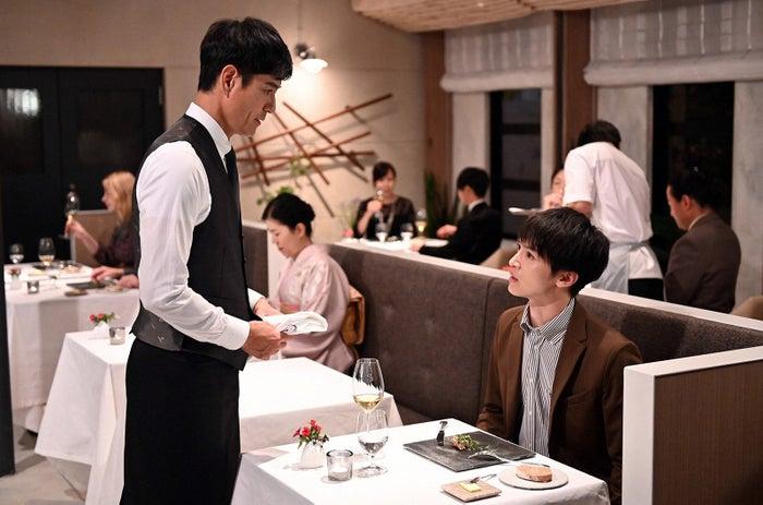 沢村一樹、玉森裕太/「グランメゾン東京」第4話より(C)TBS