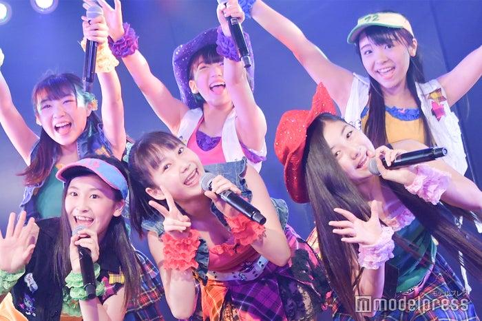 「投げキッスで撃ち落とせ!」/AKB48柏木由紀「アイドル修業中」公演(C)モデルプレス