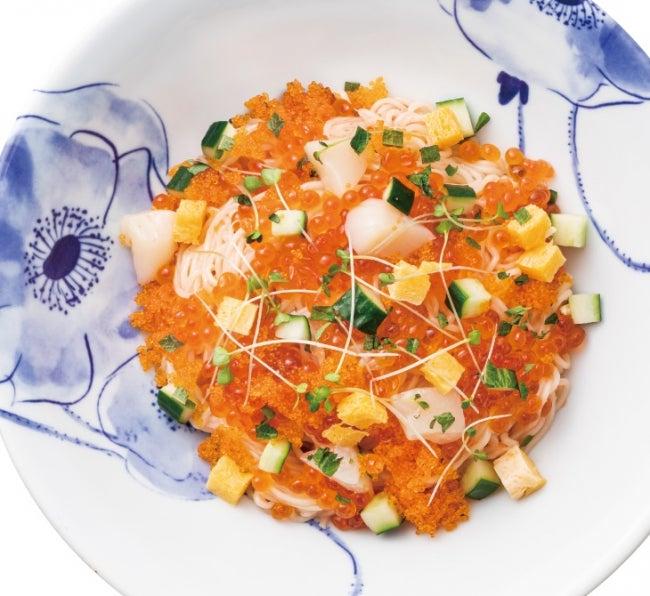 三種の魚卵のたらこスパゲティ1,390円(税抜)/画像提供:アークランドサービスホールディングス