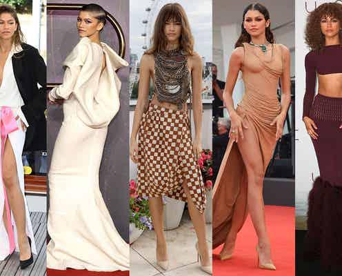 「DUNE」ゼンデイヤのドレスアップが最強すぎる 超絶スタイル際立つ着こなしをイッキ見