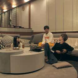 優衣、聡太、俊亮「TERRACE HOUSE OPENING NEW DOORS」35th WEEK(C)フジテレビ/イースト・エンタテインメント