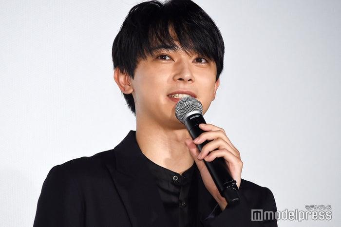 映画『空の青さを知る人よ』公開記念舞台挨拶に登壇した吉沢亮 (C)モデルプレス