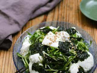 ごま油香る「豆腐とわかめのチョレギサラダ」の作り方