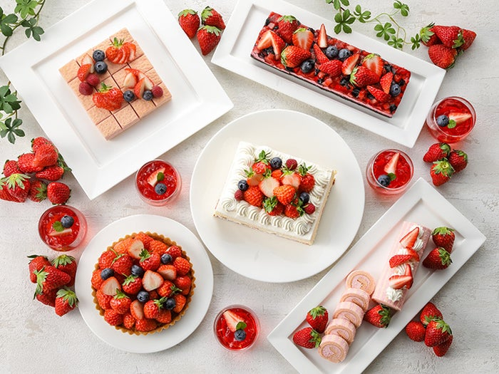 ベリーベリーブッフェ~Very Berry Buffet~/画像提供:ニッコー・ホテルズ・インターナショナル