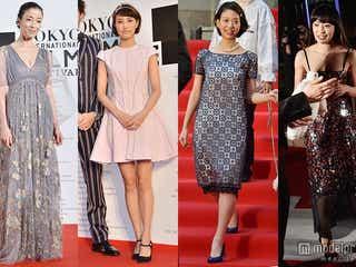 """華やか""""秋冬ドレス""""一挙公開「第27回東京国際映画祭」レッドカーペット"""