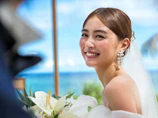 内田理央、結婚願望&理想の結婚式明かす ウエディングドレス姿を披露