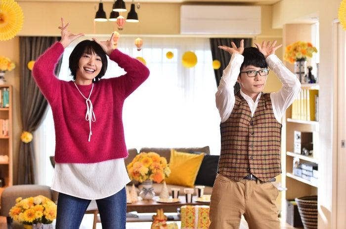 """新垣結衣×星野源「逃げ恥」""""恋ダンス""""(C)TBS"""