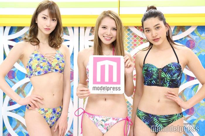 松山英礼奈、蘭、樽見麻緒 (C)モデルプレス