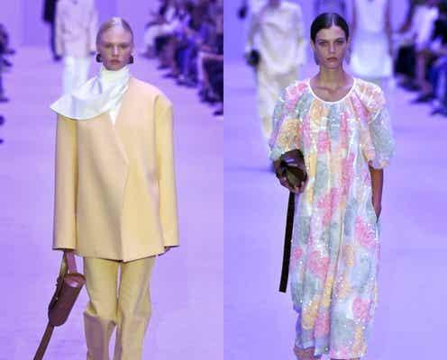 22年春夏ミラノ・コレクション 多様性感じさせる軽やかな抜け感