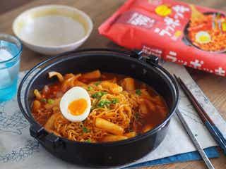 SNSで噂の韓国B級グルメ!「ラッポッキ」をおいしく食べる方法