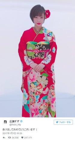 広瀬すず・佐々木希・佐野ひなこ・藤田ニコル…美女の華やか晴れ着姿