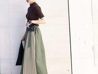 着るだけで簡単高見え!《デザインスカート》の秋コーデ