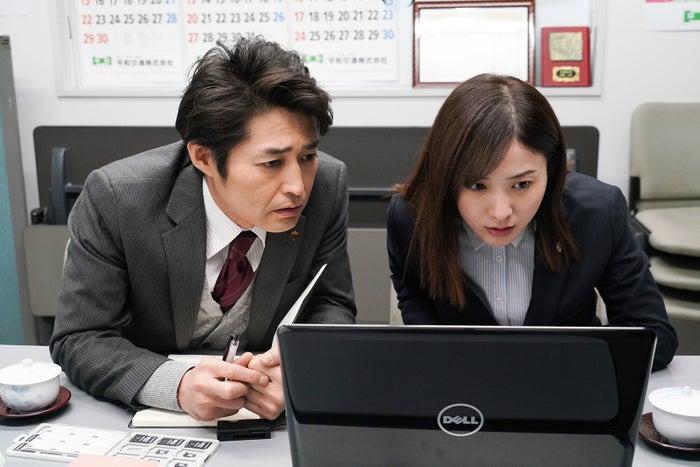 安田顕、吉高由里子/「正義のセ」第1話より(C)日本テレビ