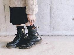 カッコよくて丈夫なDr.Martens(ドクターマーチン)のブーツを女の子っぽく履きこなそう♥