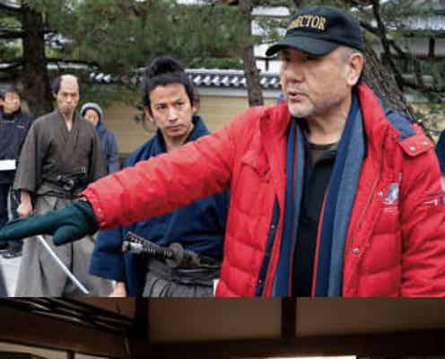 10月15日公開映画『燃えよ剣』岡田准一、山田涼介メイキング写真解禁