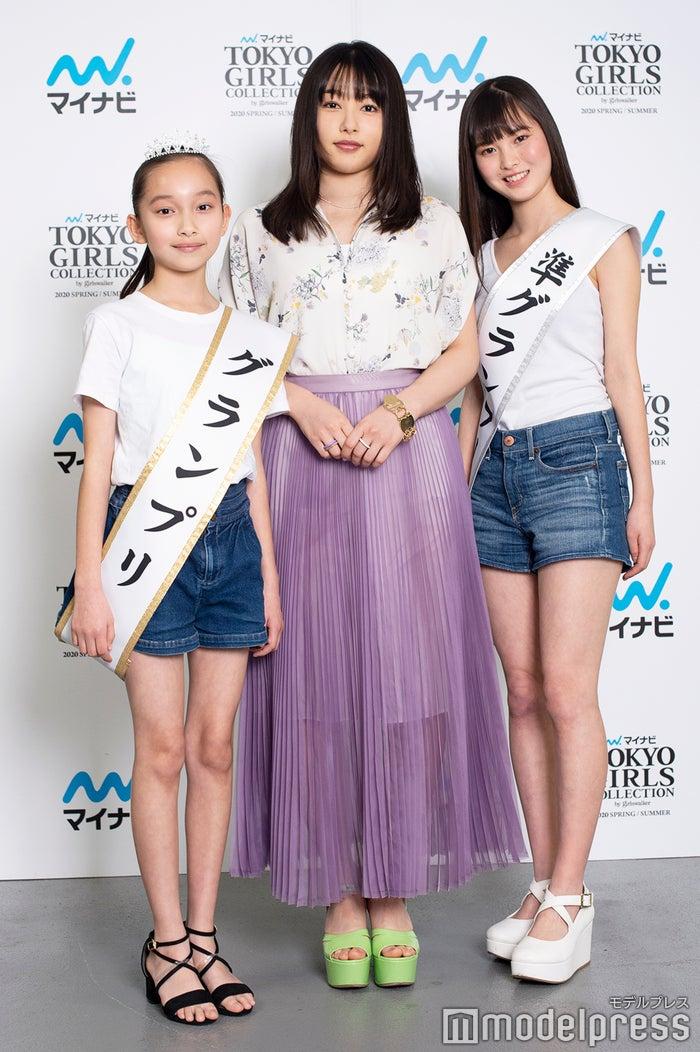 上妻美咲、桜井日奈子、名波美海(C)モデルプレス