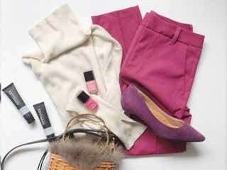 【GU】上品ピンクでモテる!キレイめパンツで華やかバランスアップコーデ4選