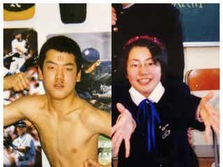 おばたのお兄さん&妻・山崎夕貴アナ、中学生時代の写真に驚きの声殺到
