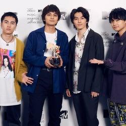 DISH//が初受賞 北村匠海、あいみょんやファンへの感謝語る<MTV VMAJ 2020>
