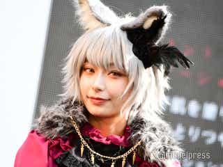 """宇垣美里、""""人狼""""コスプレで登場 ハロウィンの予定明かす"""