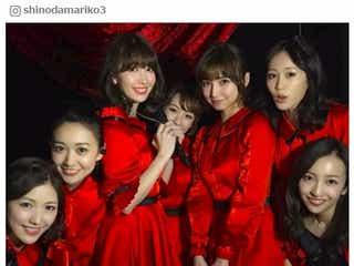 """AKB48""""神7""""再集結に興奮の声止まらず 篠田麻里子、小嶋陽菜の涙にツッコミ「絶対確信犯」"""