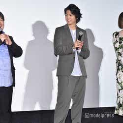井口昇監督、伊藤健太郎、玉城ティナ (C)モデルプレス