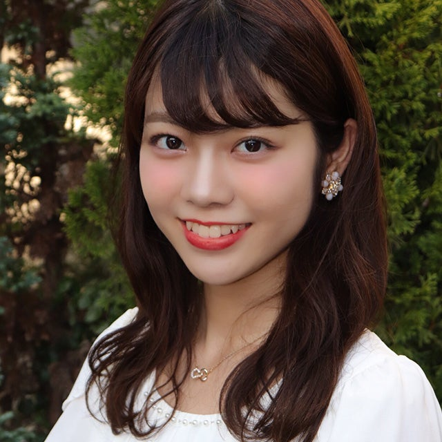 「MISS CIRCLE CONTEST 2018」ファイナリスト/早稲田大学文学部美術史コース・大間知莉奈さん(提供写真)