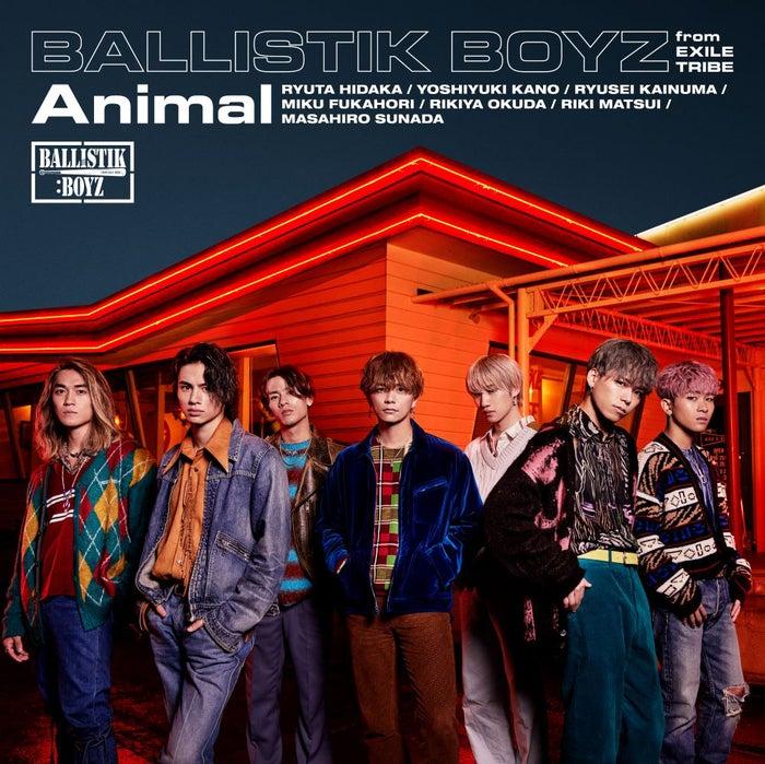 BALLISTIK BOYZ from EXILE TRIBE「Animal」(2月3日リリース)(提供写真)