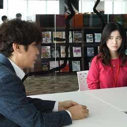 ユースケ・サンタマリア、吉高由里子/「わたし、定時で帰ります。」第8話より(C)TBS