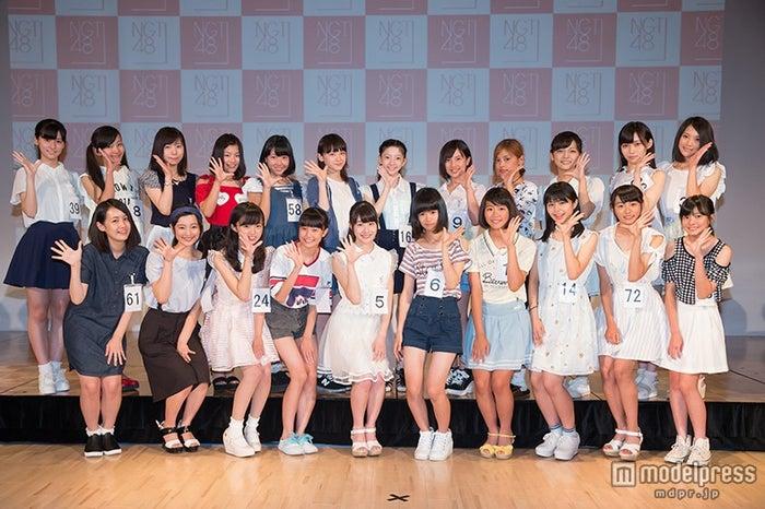 NGT48、第1期生オーディション合格者決定(C)AKS【モデルプレス】