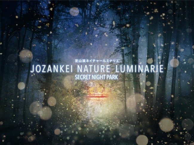 JOZANKEI NATURE LUMINARIE ~SECRET NIGHT PARK~/画像提供:ネイキッド