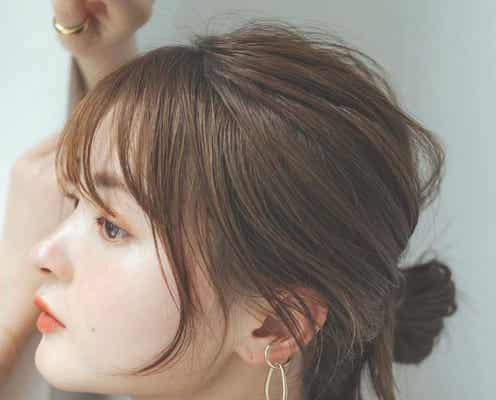 前髪ぱっつん×シースルーで抜け感を演出。韓国風トレンドの作り方をご紹介