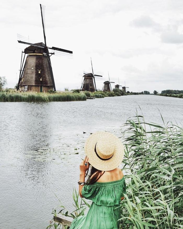 オランダを訪れたなら、この景色、絶対写真におさめたい!@lifestock_yuuki