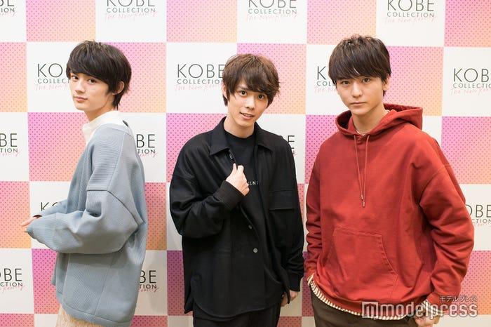 (左から)藤原大祐、細田佳央太、田川隼嗣 (C)モデルプレス