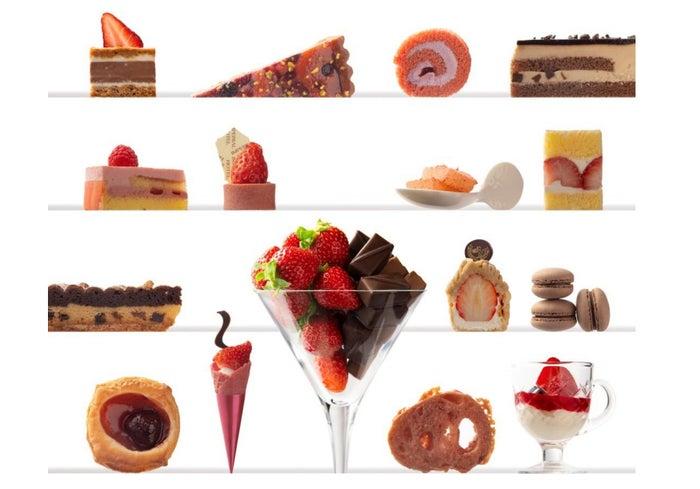 苺スイーツバイキング ~苺とショコラの饗宴/画像提供:帝国ホテル 大阪