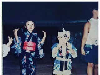 山田優&山田親太朗の幼少期「美形姉弟」「すでに出来上がってる」と話題