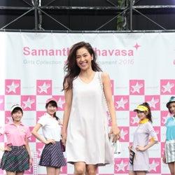 中村アン、スタイルキープを語る 自身初のステージに驚き
