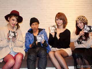 人気モデル3名がPV初出演 「めちゃくちゃ緊張した」