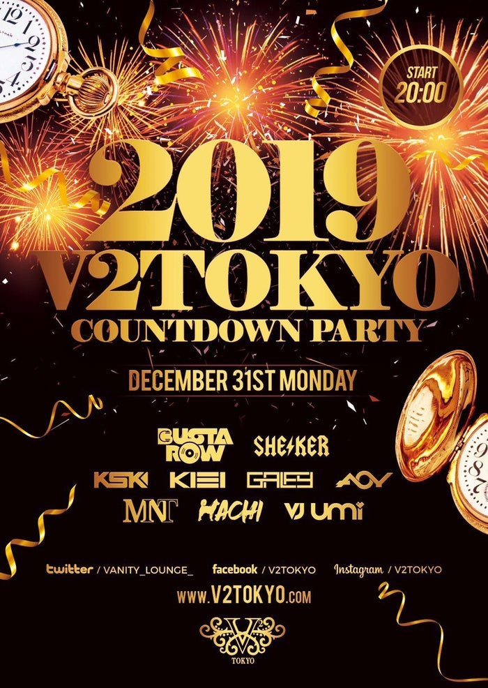 2019 V2 TOKYO  COUNTDOWN PARTY(提供画像)