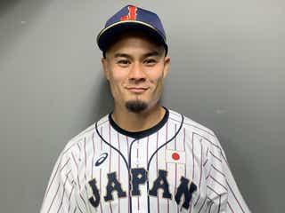 ラグビー日本代表・田村優選手、初始球式で会場沸かす