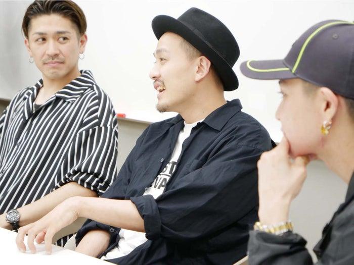 (左から)TAKA、KEISEI、RYO