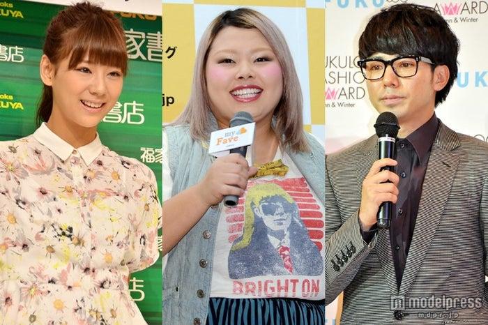 4日に最終回を迎えた「ピカルの定理」/(左より)メンバーの西内まりや、渡辺直美、綾部祐二