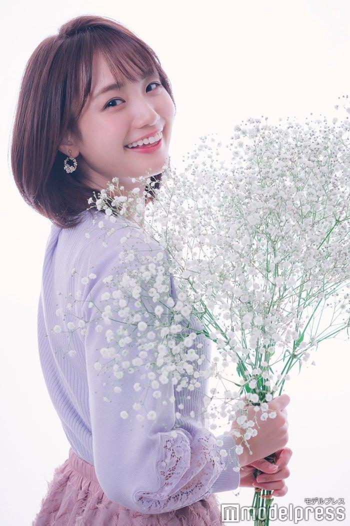 井上清華アナウンサー(C)モデルプレス