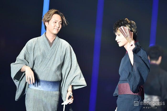 (左から)浦田直也、日高光啓