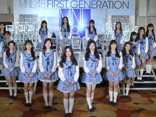 "AKB48新姉妹グループ""MNL48""1期生初お披露目 国民投票1位のメンバーは?"
