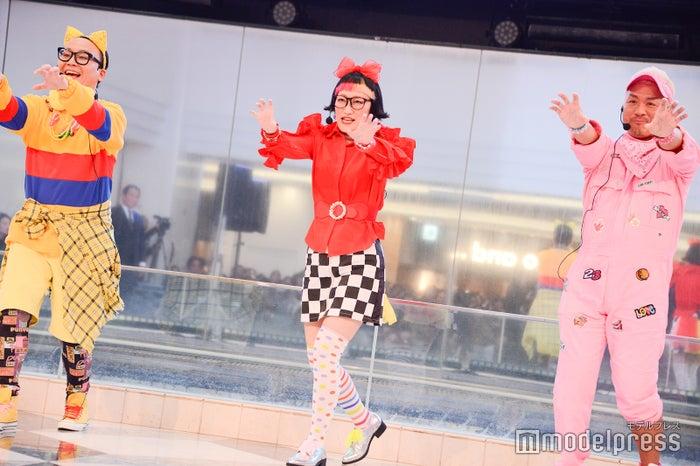 POP MONSTERたかし、松浦志穂、マサルコ/吉本坂46「泣かせてくれよ」発売記念イベント(C)モデルプレス