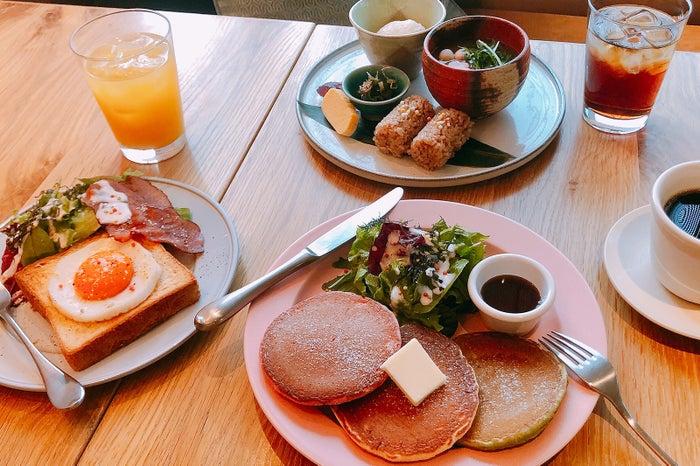 「京MORNING」 3種類のプレート/画像提供:京阪ステイズ