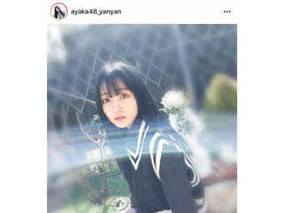 NMB48 山本彩加、ミニスカから美脚アピール!「毎日神々しい」