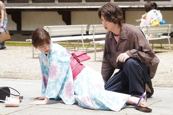 西野七瀬、横浜流星/「あなたの番です」第14話より(C)日本テレビ