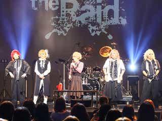 話題のヴィジュアル系バンドthe Raid.、地元大阪で9周年記念ライブ開催<ライブレポ/セットリスト>
